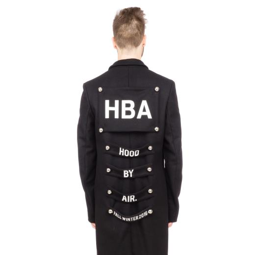 HOOD BY AIR. CAPPOTTO