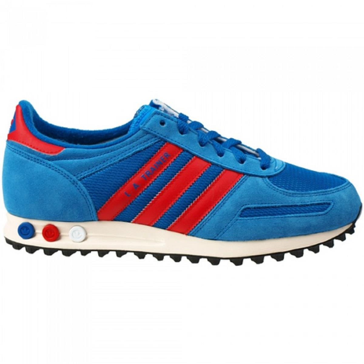 adidas trainer blu e rosse