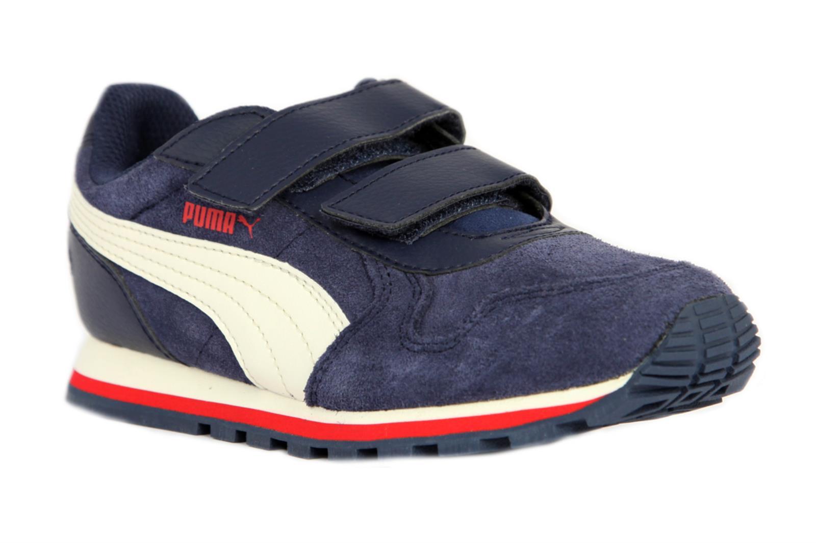 Sneakers-CAMOSCIO-BAMBINO-PUMA-BLU