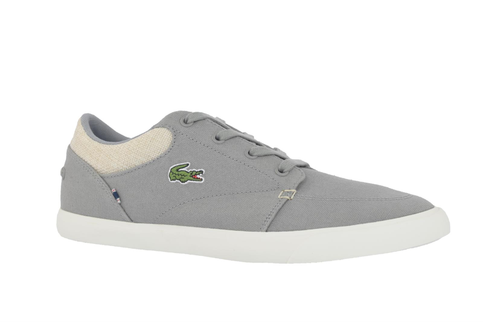 LACOSTE BAYLISS-6H2 SNEAKERS SNEAKERS BAYLISS-6H2 UOMO TELA GRIGIO 4b8973