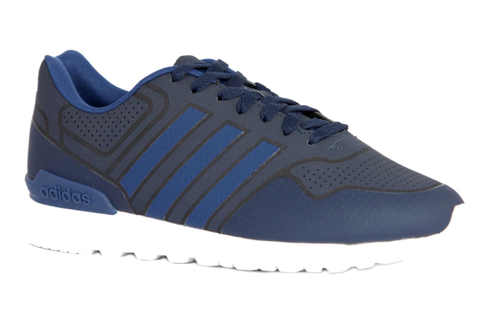 Uomo Da Pelle Casual Blu Di In Adidas Colore Sneakers 10k 7qIxv7F
