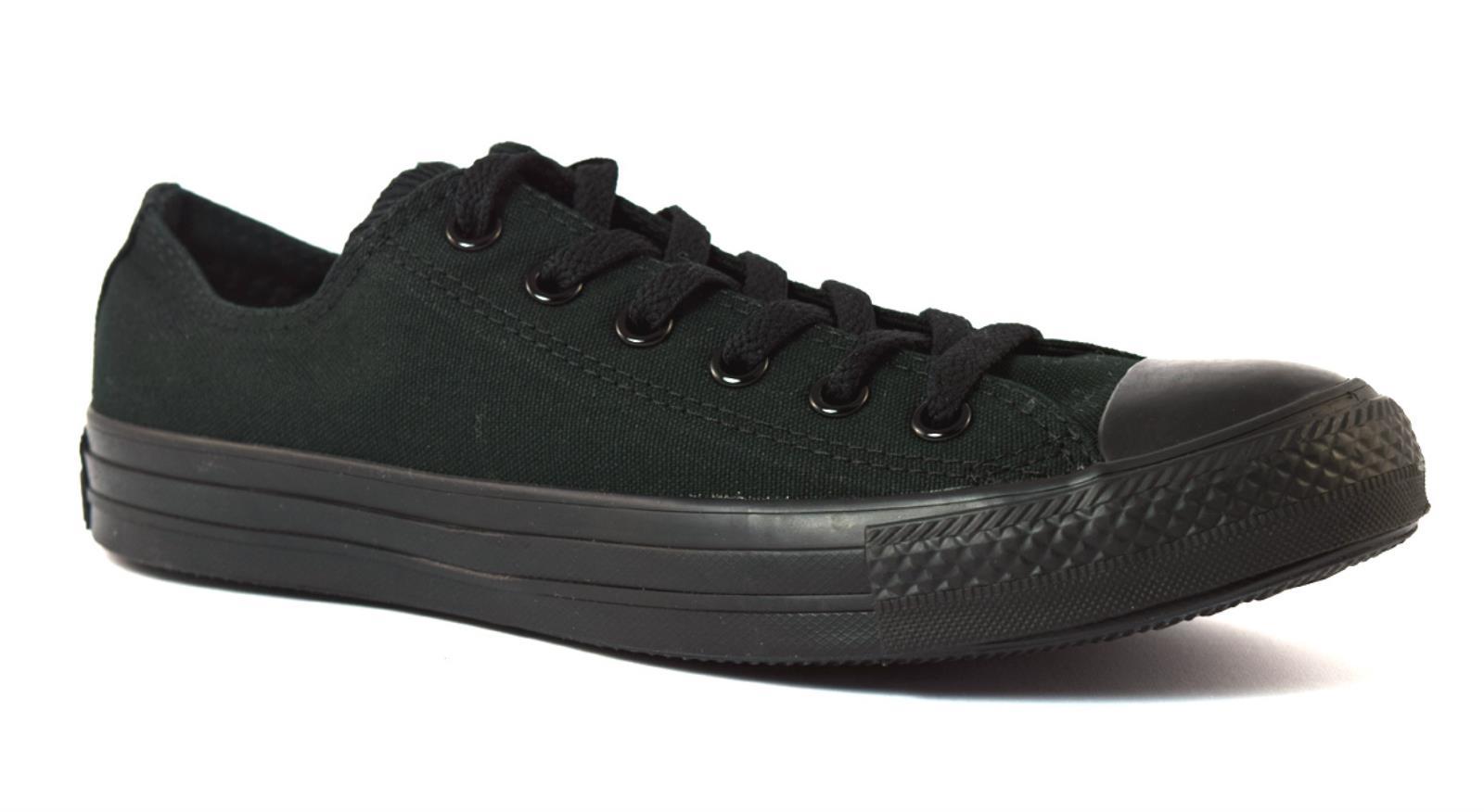 De Star Converse Toile Unisexe M5039 Noire All Monochrome Couleur En Chaussures UU5w81q