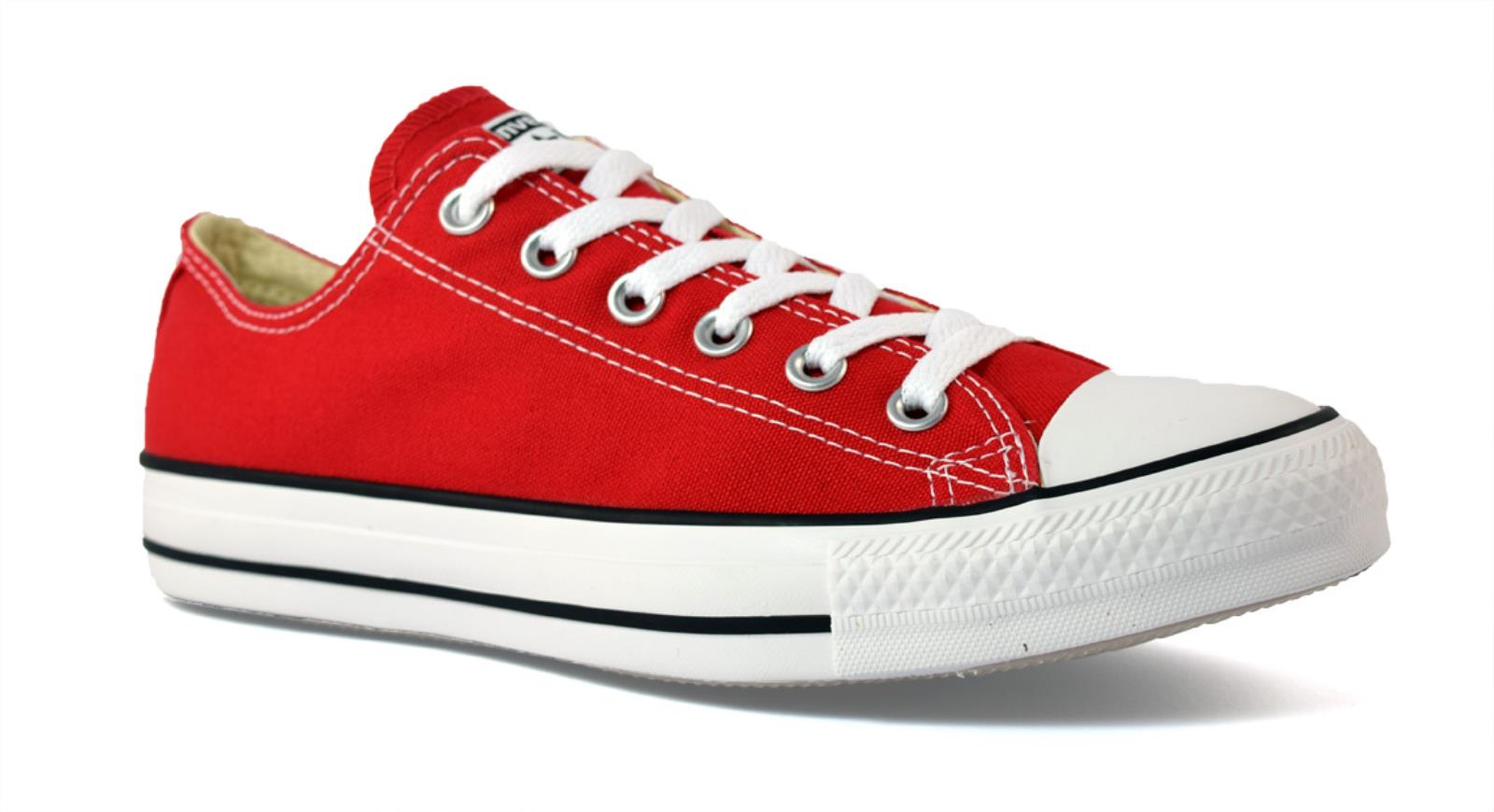 Converse Chuck Toile Taylor All Rouge Star Unisexe Chaussures M9696c OHR6Orqx