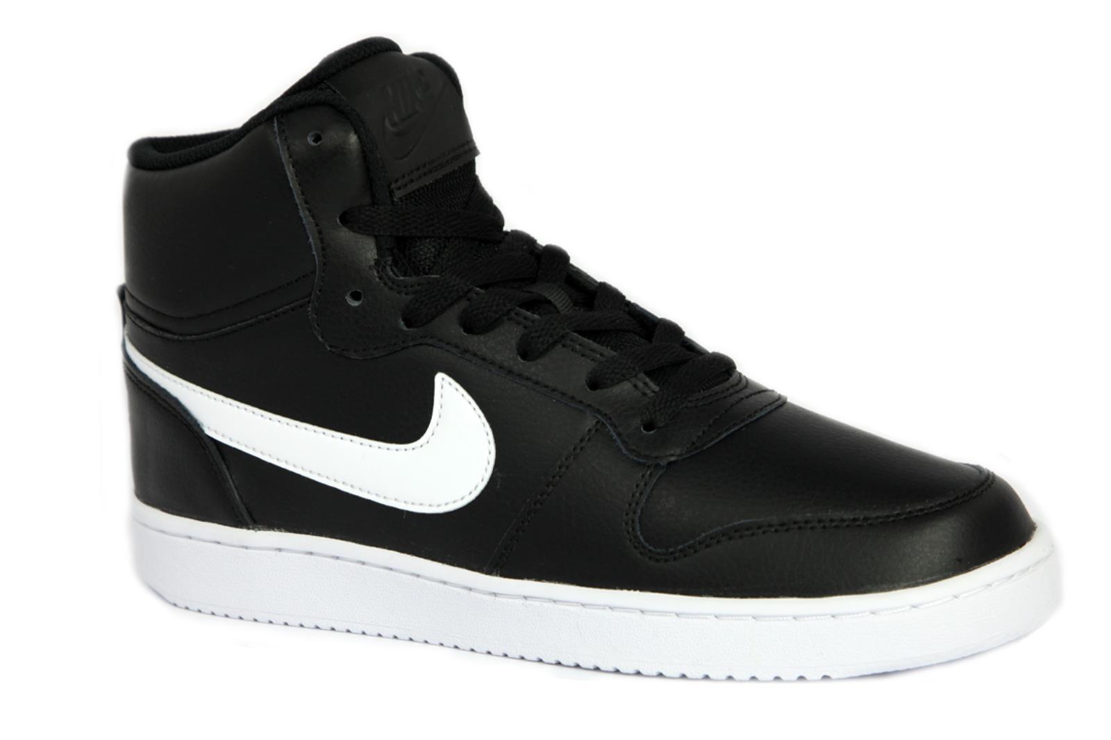 para Ebernon Zapatillas de Nike negro 002 hombres cuero Aq1773 Y55qSI