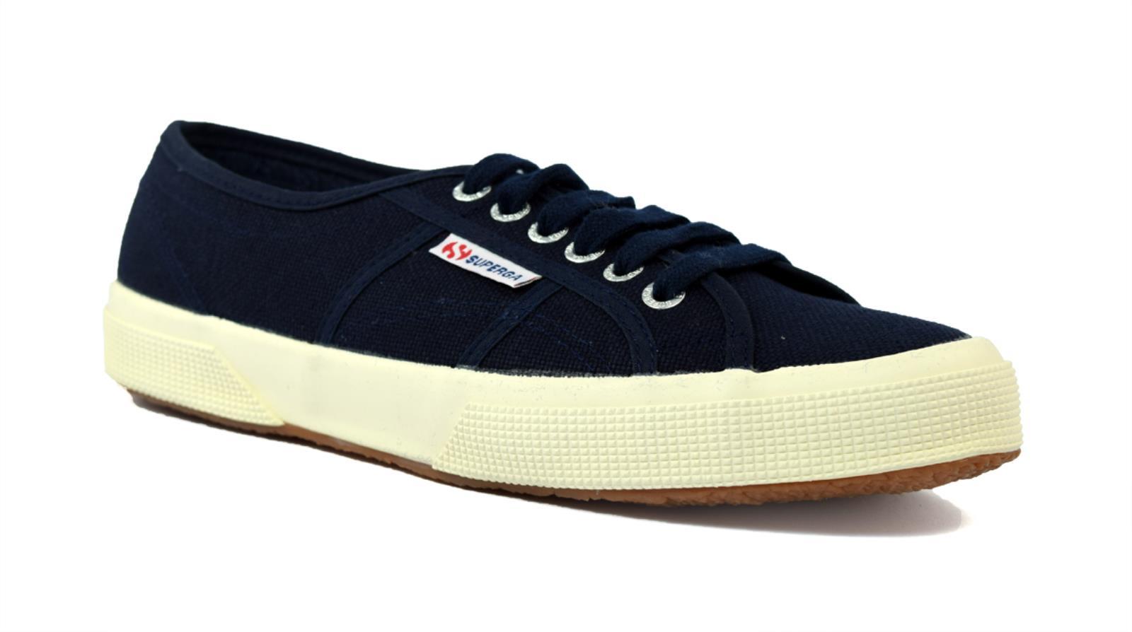 Schuhe SUPERGA2750-COTU CLASSIC CLASSIC SUPERGA2750-COTU S000010-933 UNISEX IN TELA DI COLORE BLU 7aa6ba