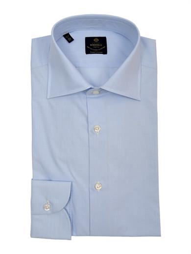 ROYAL COLLECTION CAMICIA CELESTE
