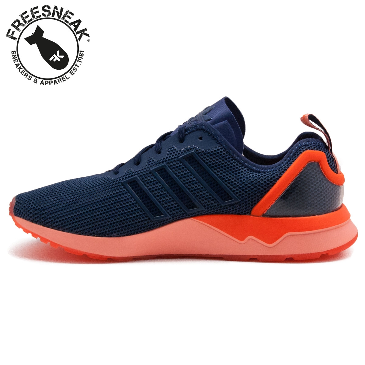 save off 103b9 81049 Adidas Zx Flux Adv Blue Orange wallbank-lfc.co.uk