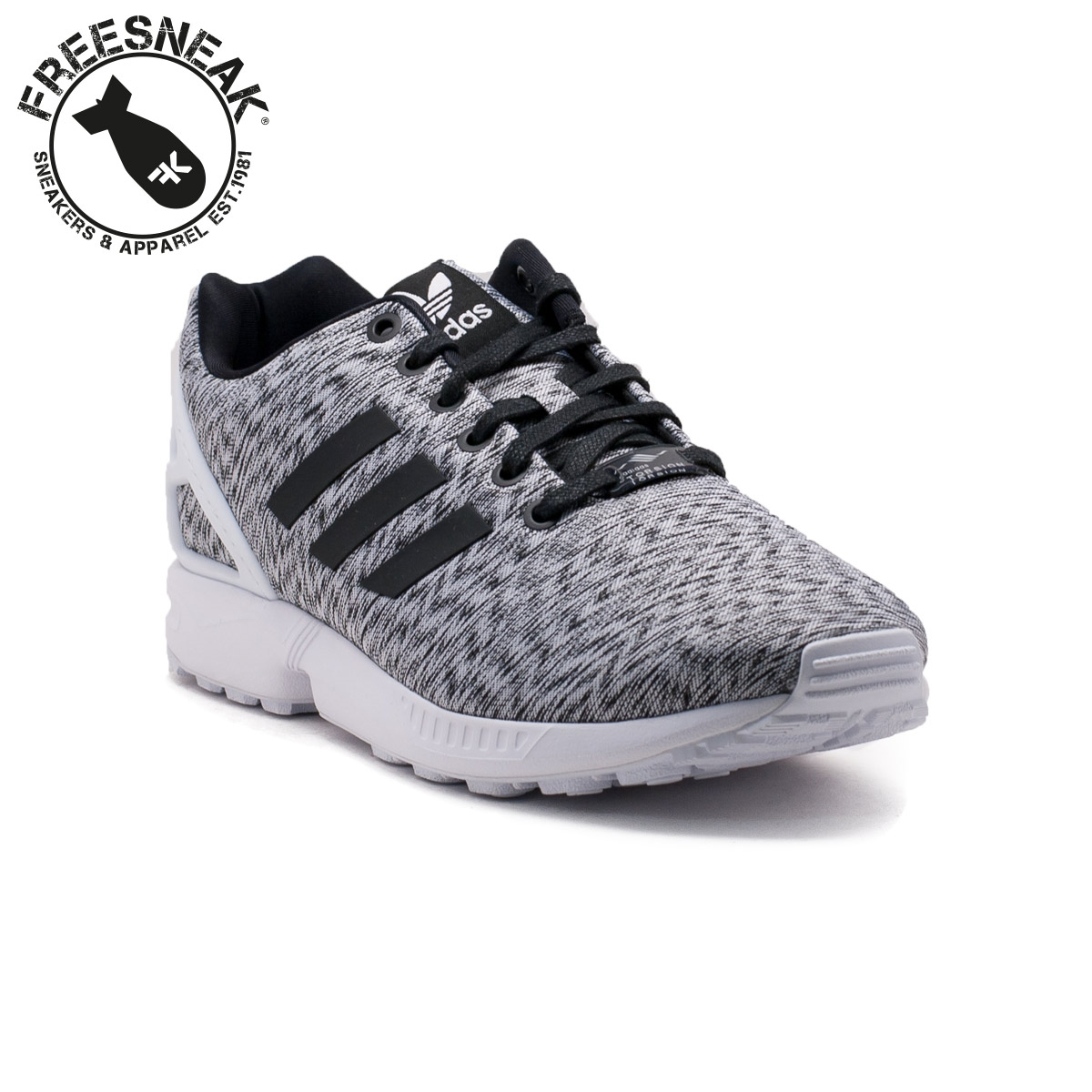 reputable site 3603e 74794 adidas zx flu grigio
