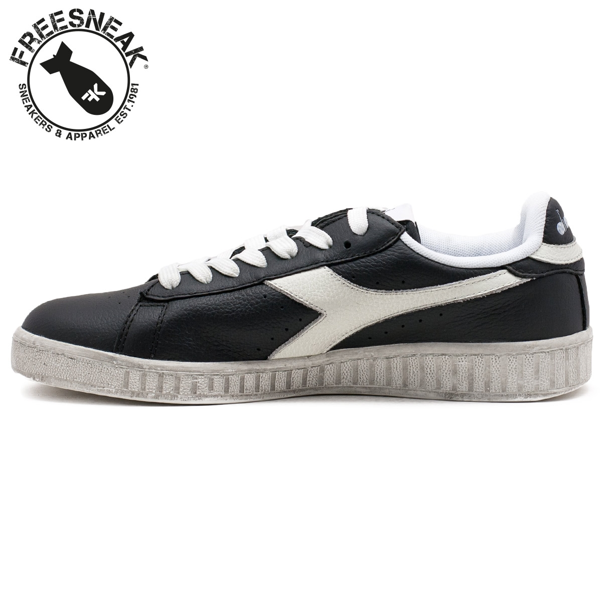 diadora game l high uomo marrone