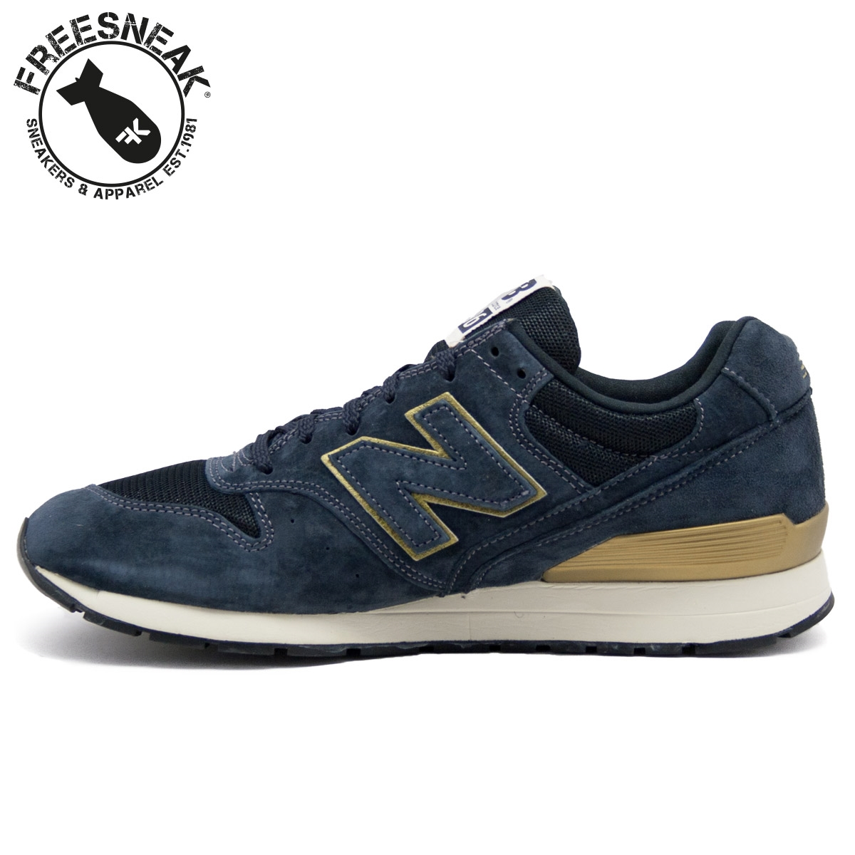 new balance 996 blue gold mrl996hb sneakers shoes man. Black Bedroom Furniture Sets. Home Design Ideas