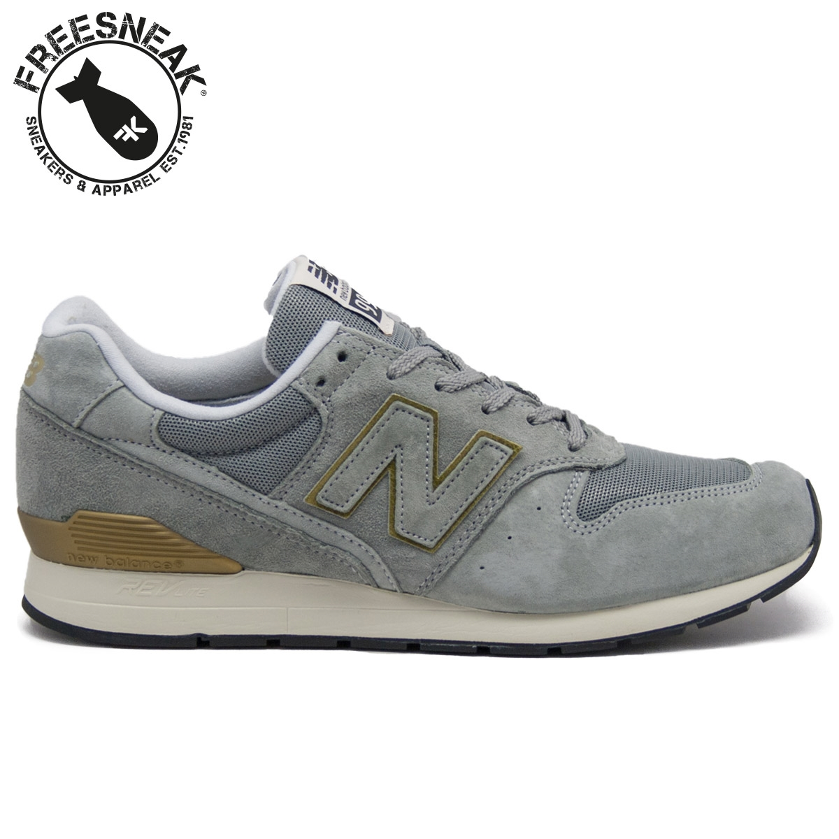new balance 996 grey and gold