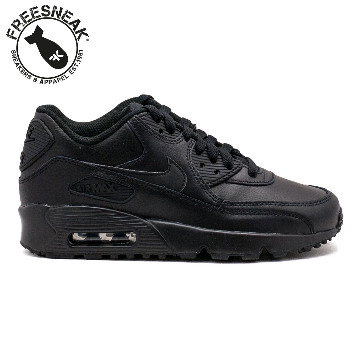 nike air max 90 nere pelle