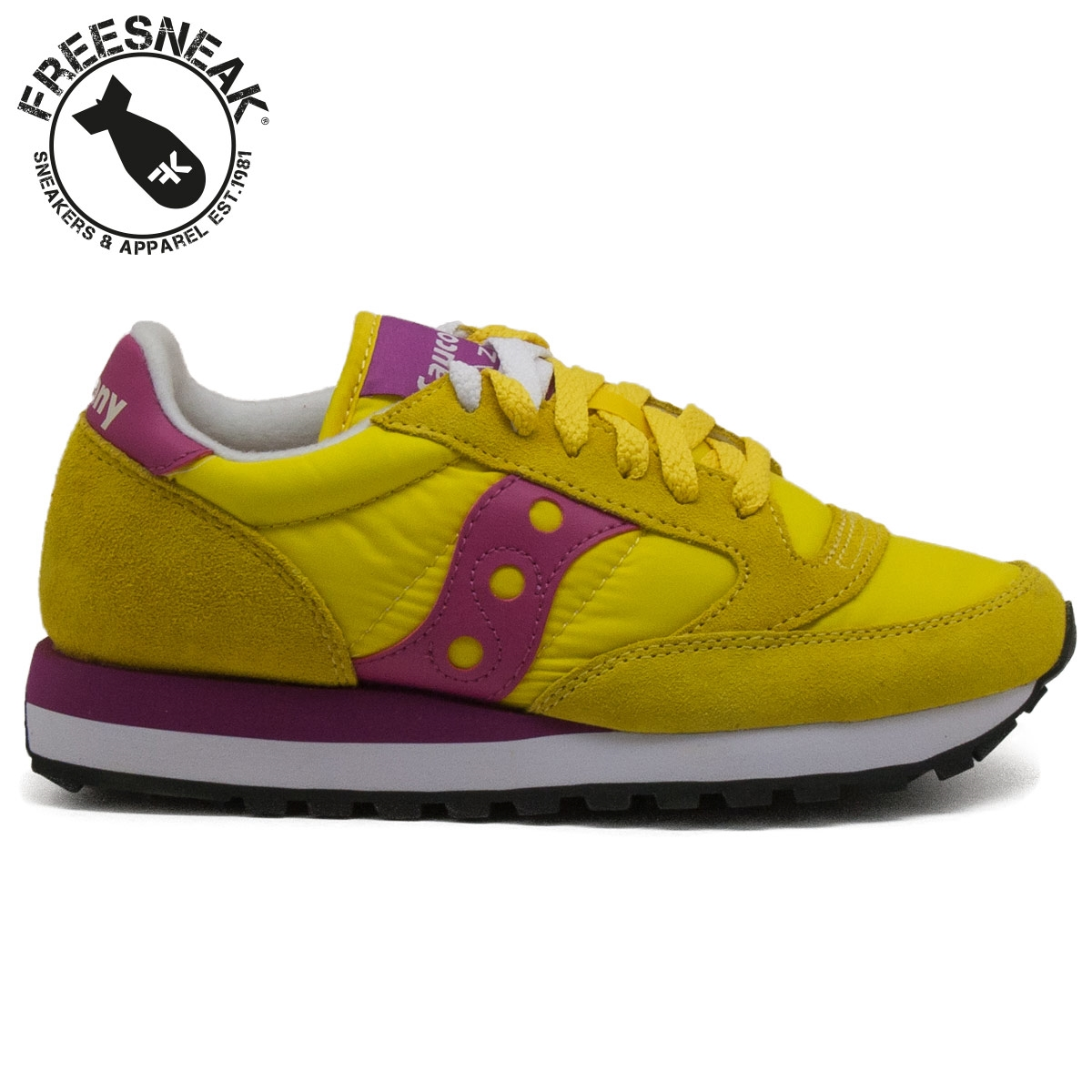 Saucony Gialle Fluo