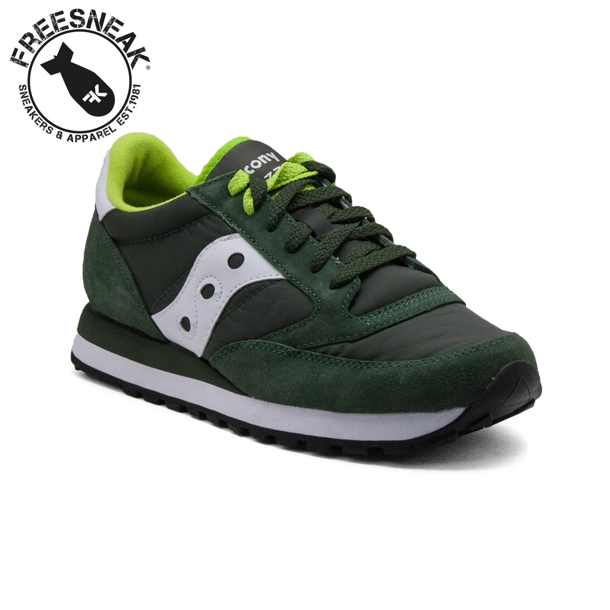 saucony jazz dark green