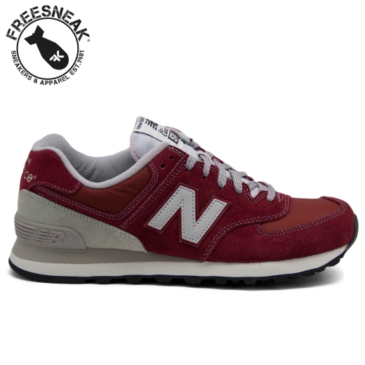 new balance uomo 574 bordeaux
