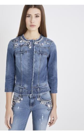 Giacche di jeans donna: giacche casual, in denim | LIU JO