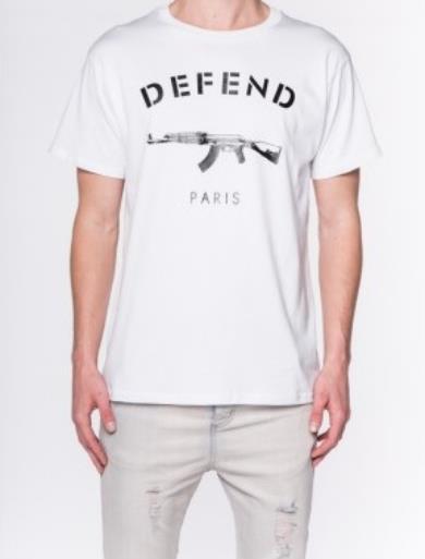 DEFEND PARIS PARIS TEE