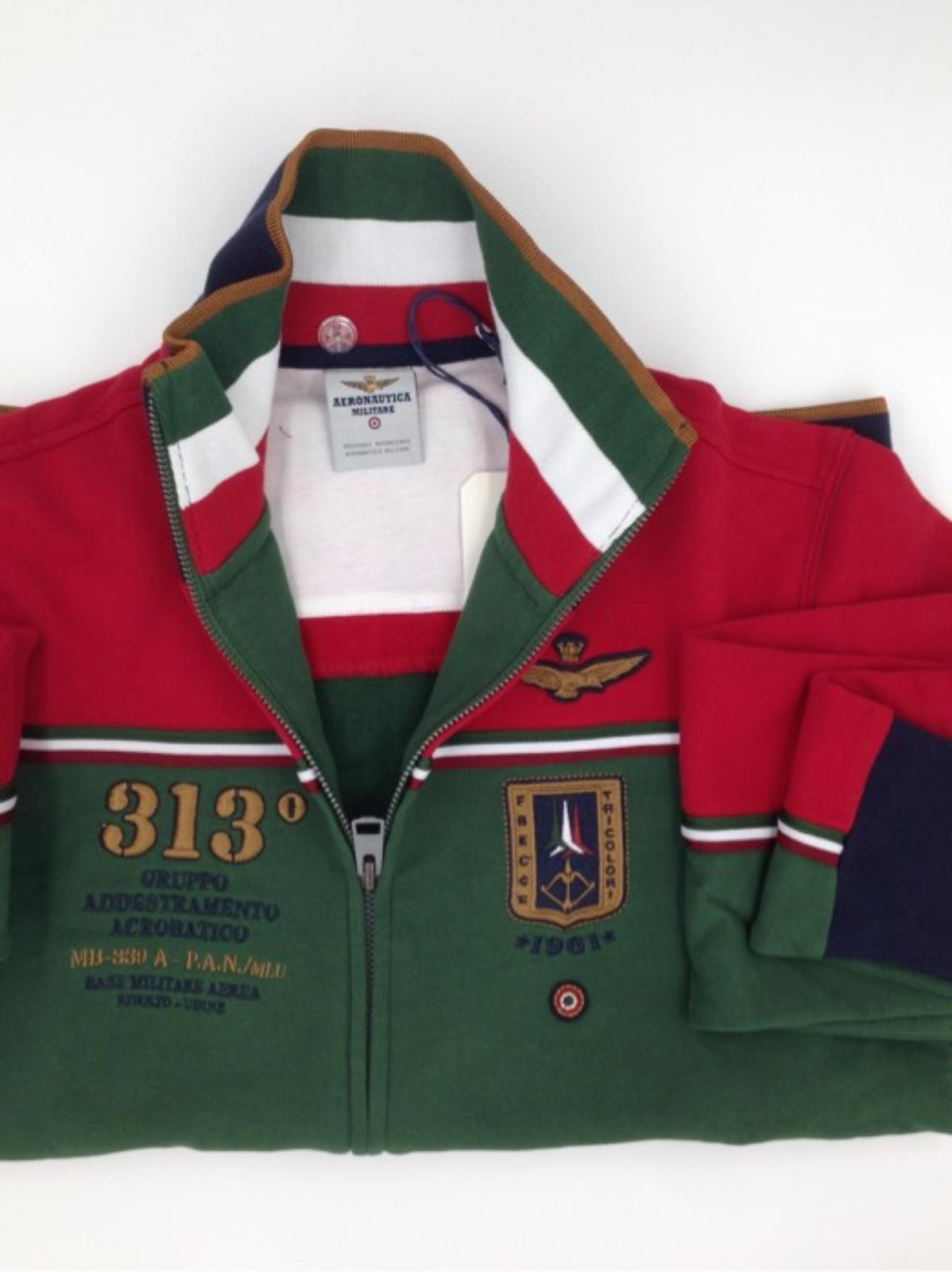 Aeronautica Shop Online Militare Giannini fe1133f303 Felpa xFWF4frIwq