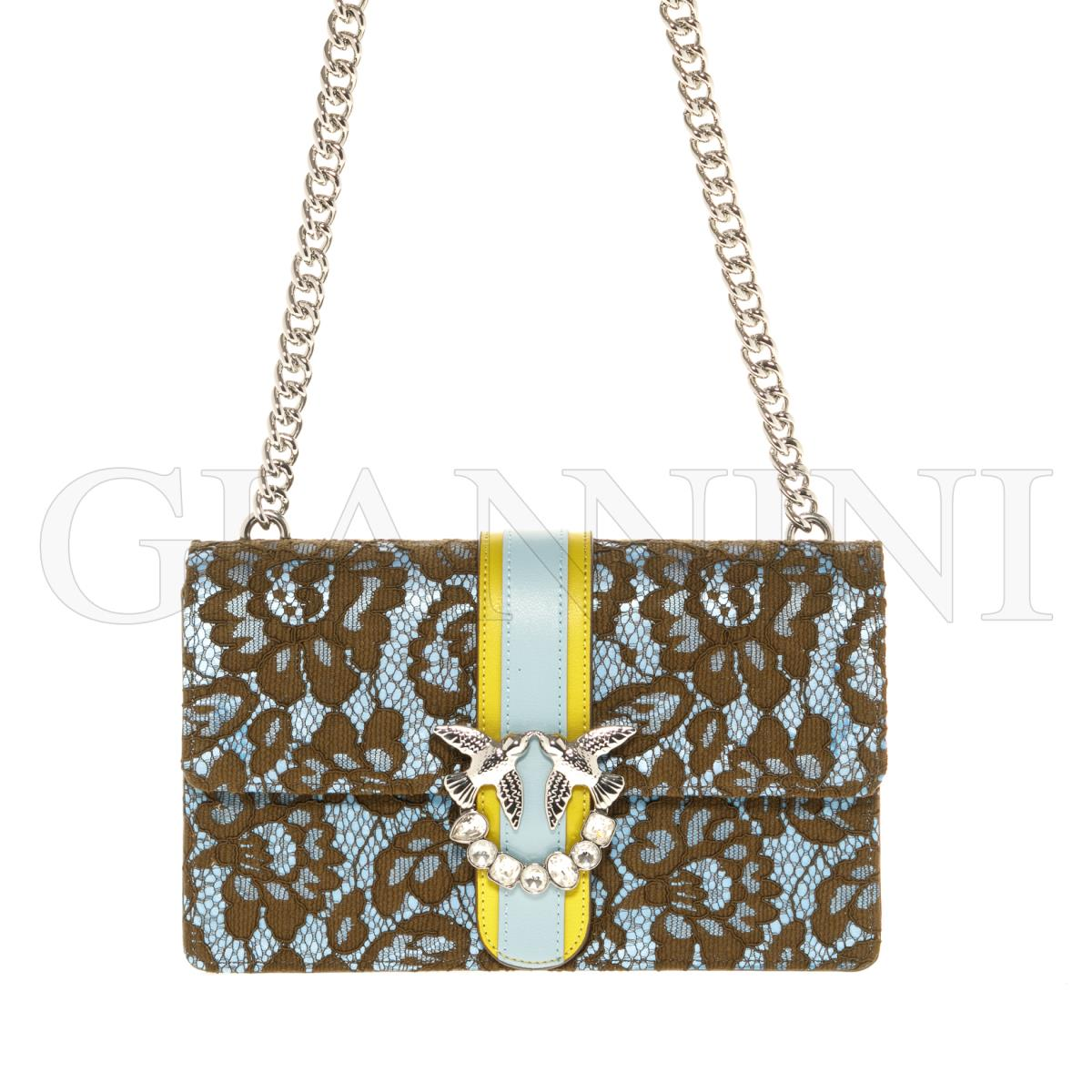 4a3efbf2afc PINKO Crossbody bag LOVE LACE for Women   GianniniShopOnline.com
