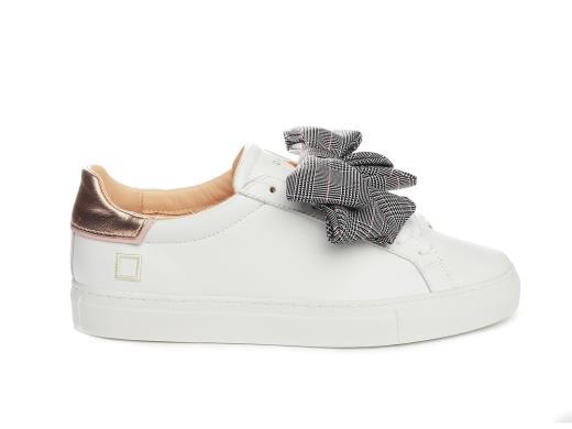 disponibilità nel Regno Unito scarpe da skate 100% autenticato SNEAKERS DATE DONNA WHITE ROSE