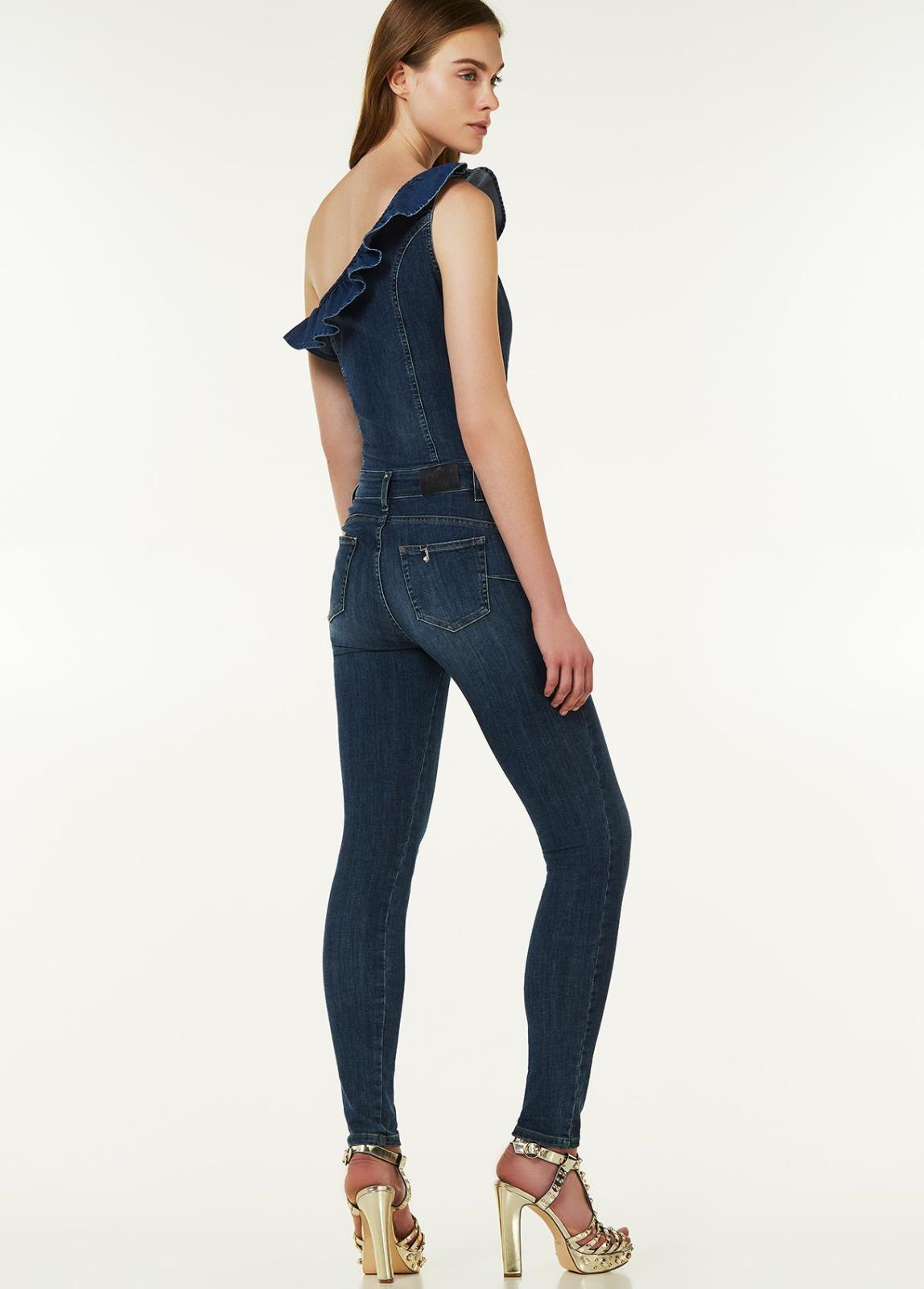 low priced 1ba12 62457 Salopette monospalla in jeans Liu Jo