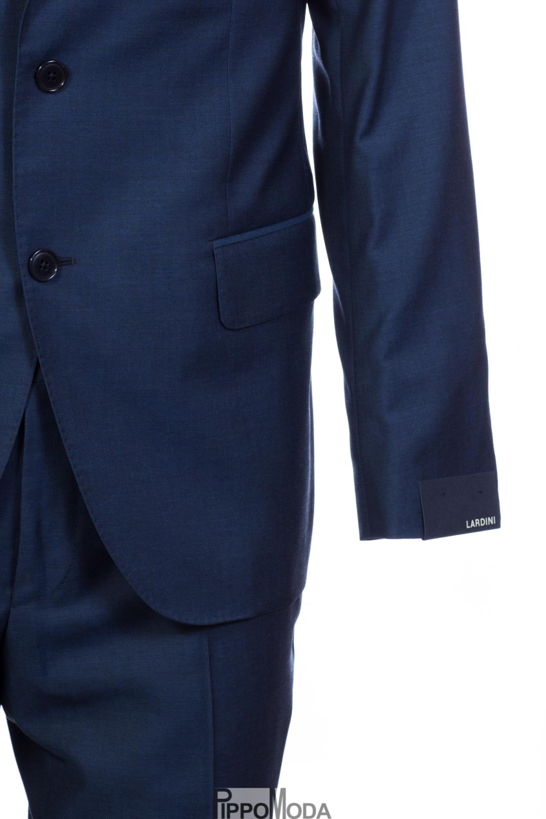 Abito Lardini uomo blu in fresco lana 9e486d70699