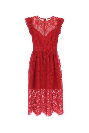 differently 46127 85c4b Abito donna Imperial a ruota in pizzo
