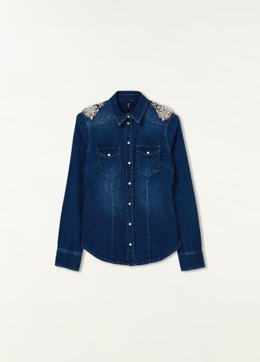vendita calda autentica prezzo basso la più grande selezione Camicia donna in Jeans Liu Jo