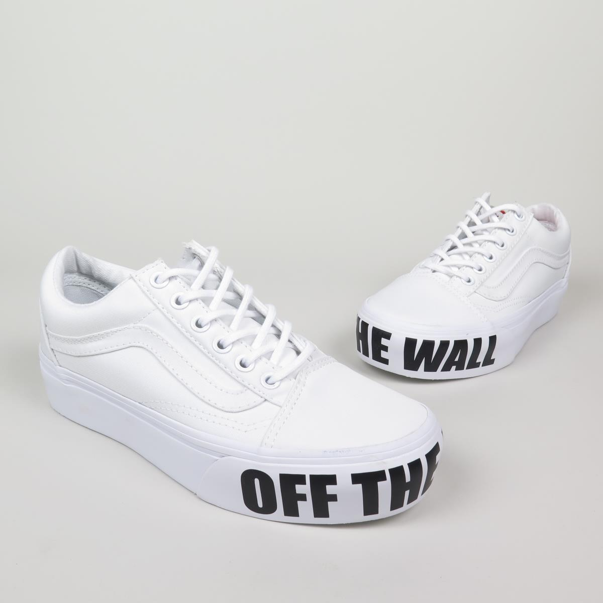 cd51d8be14341 vans old school uomo bianche Online   Fino a 44% OFF Scontate
