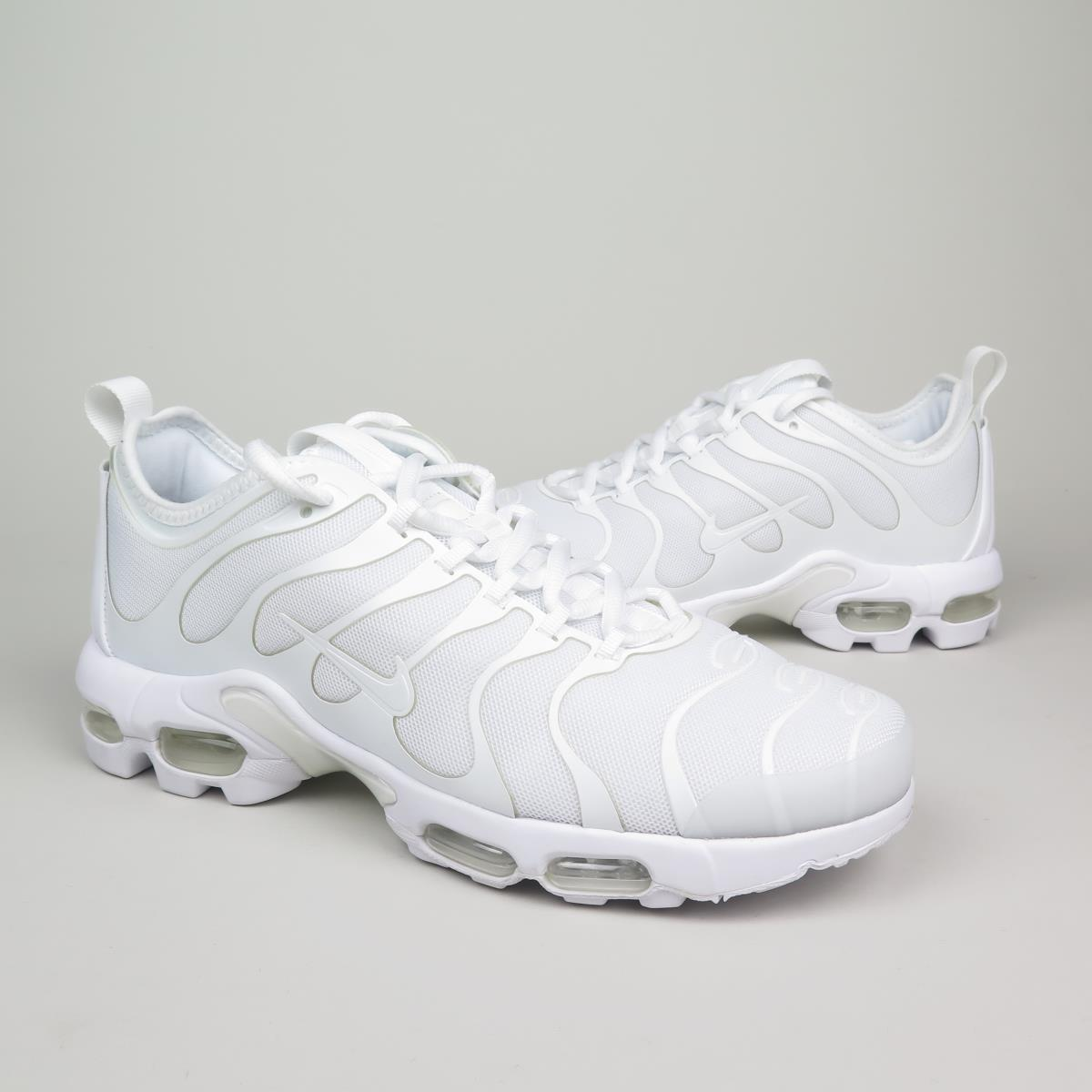 nike air max tn bianche in pelle