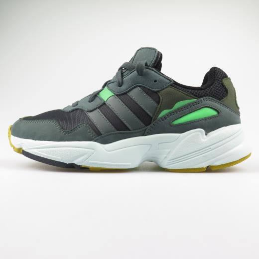 Adidas Originals Sneakers Uomo Yung-96 Green  860f754f08b