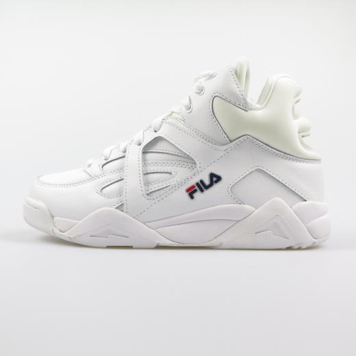 0055a3780c16b Fila Sneakers Donna Cage Mid White