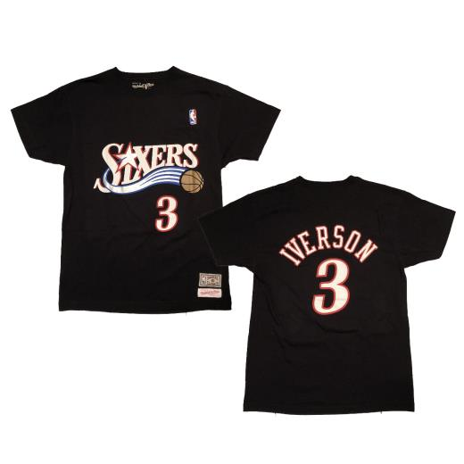 MITCHELL&NESS NAME & NUMBER TEE