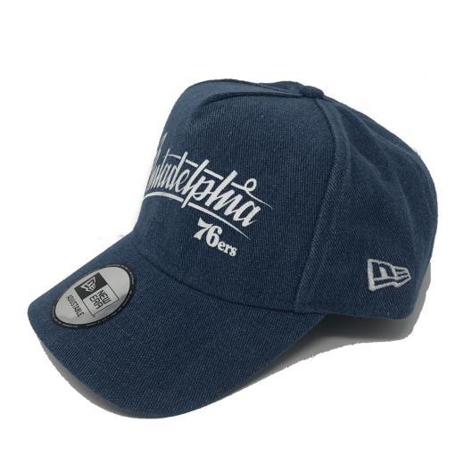 NEW ERA DENIM A FRAME CAP