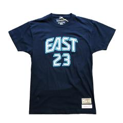 MITCHELL&NESS REPLICA NAME & NUMBER TEE