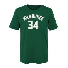 NBA REPLICA TEE NAME & NUMBER J