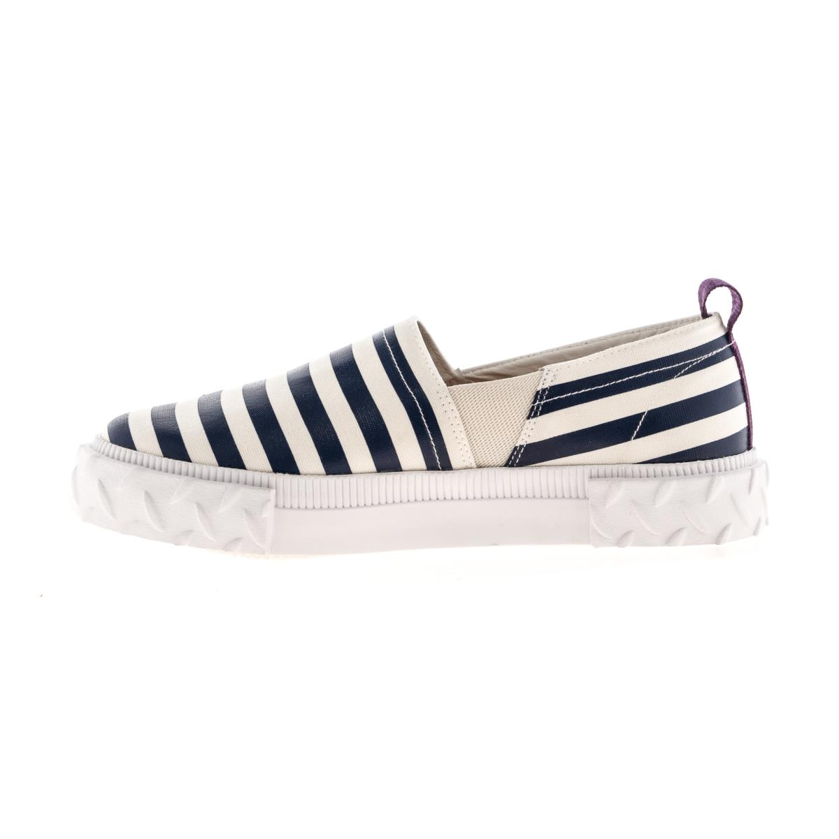 Slip-on Viper a righe in canvas Eytys QK2ss0fKy