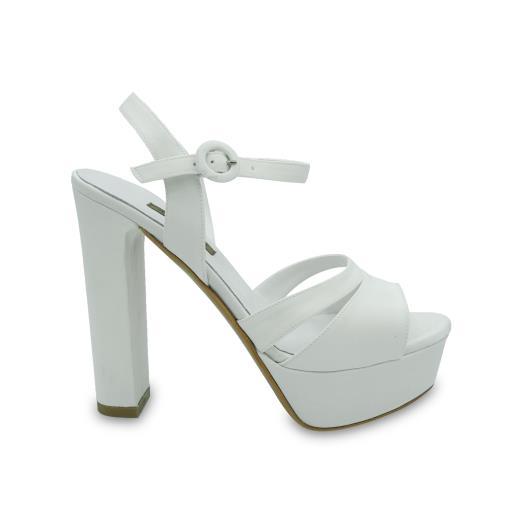 Scarpe Sposa Albano.Albano Scarpe Da Sposa In Bianco Seta 2184 Allocca Store