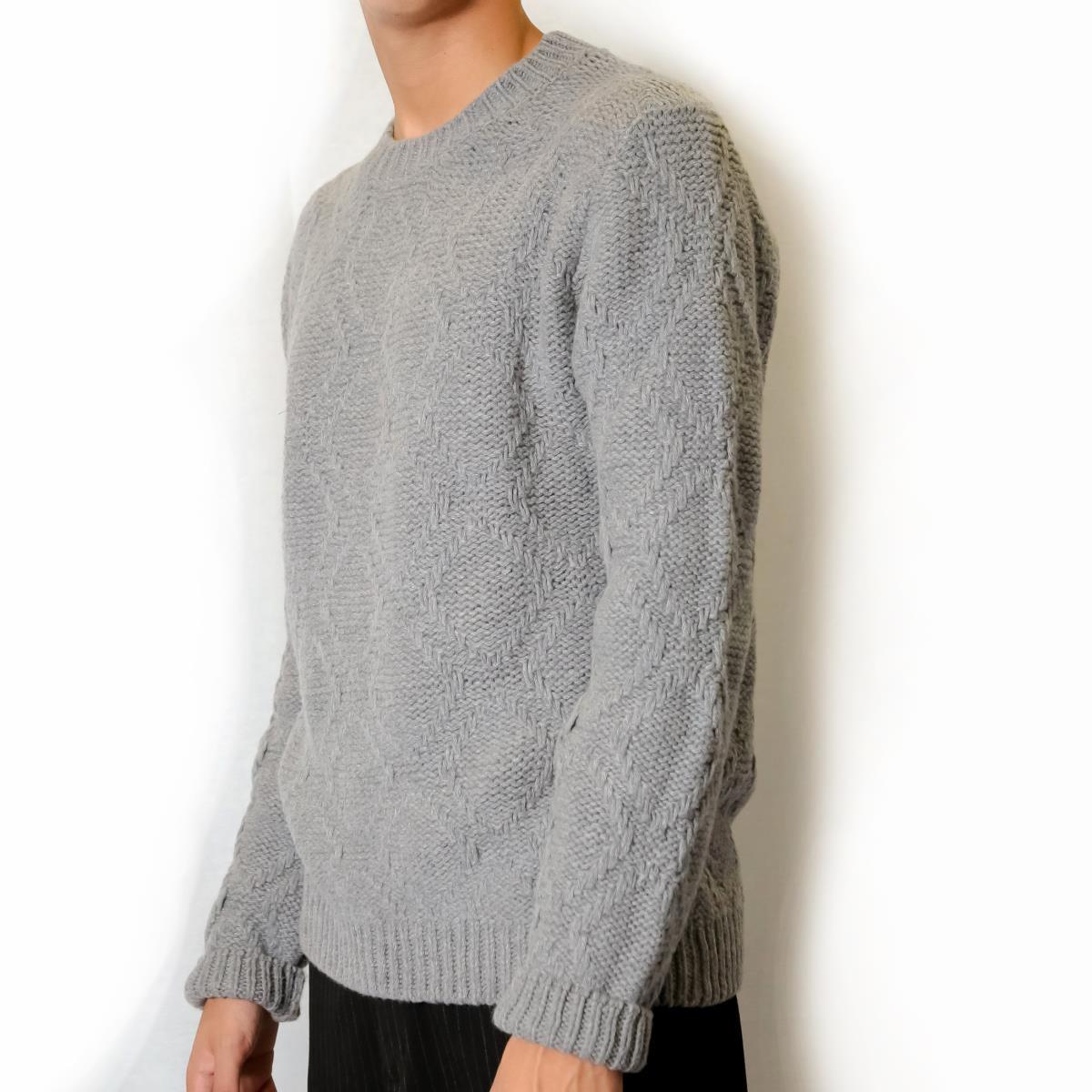 9af21e9526aa13 Maglione girocollo in lana intrecciata