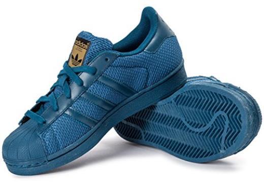 adidas scarpe donna superstar blu