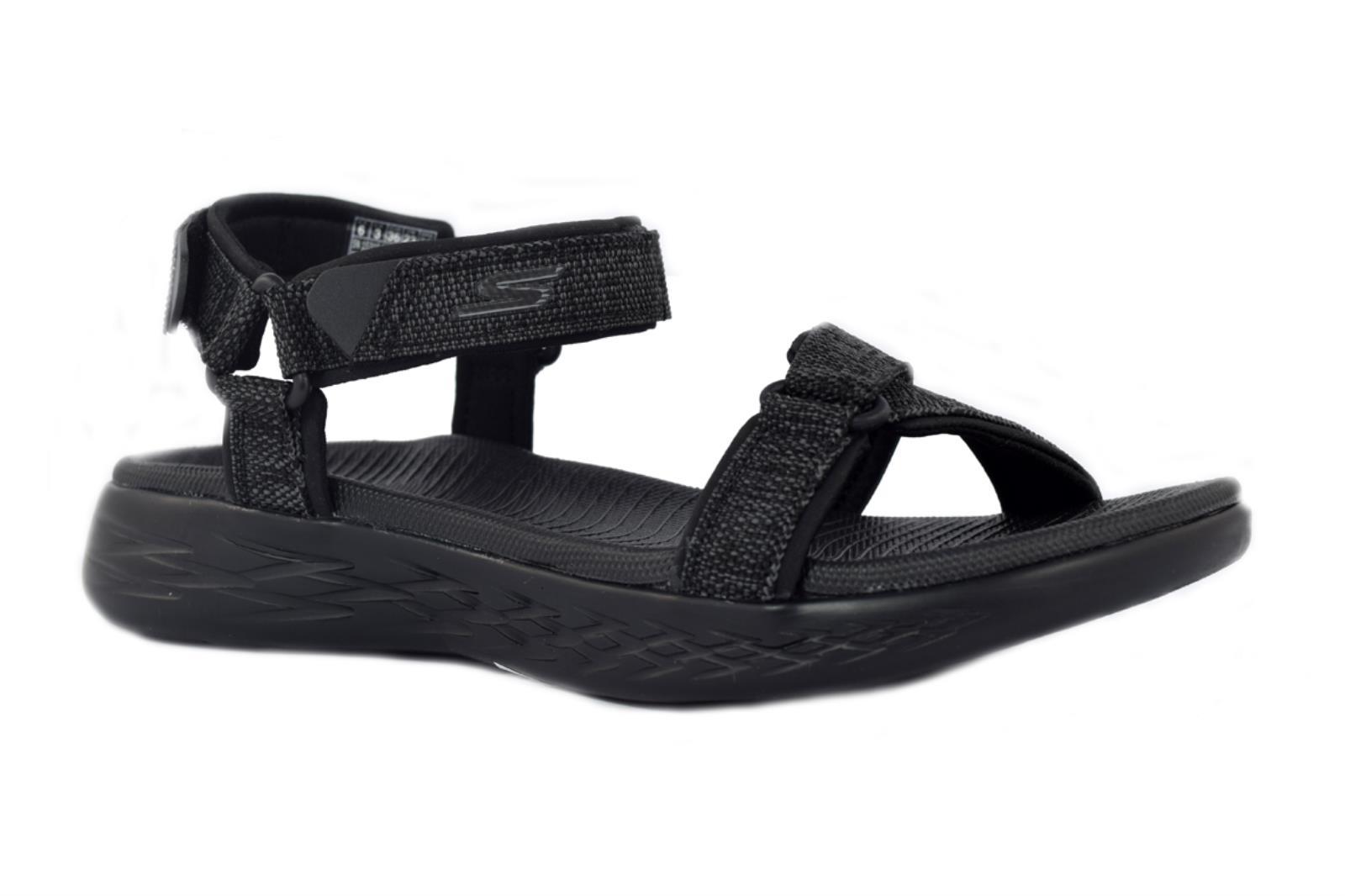 Skechers ON THE GO 600 Radiant Sandali Donna Black 15315BBK | eBay