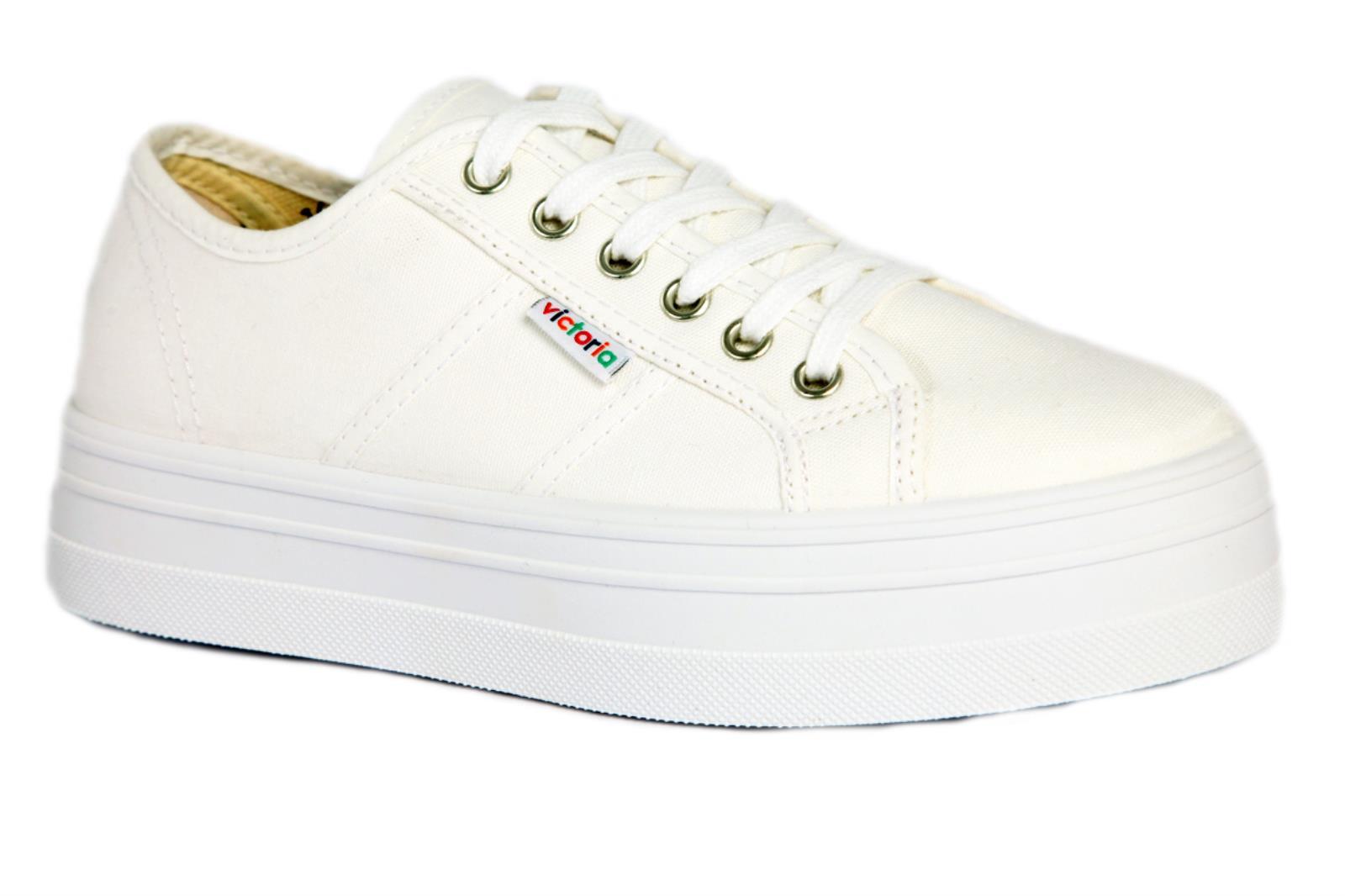 Victoria Sneaker Blucher Lona Plataforma Damenschuhe    Damenschuhe   35cbda