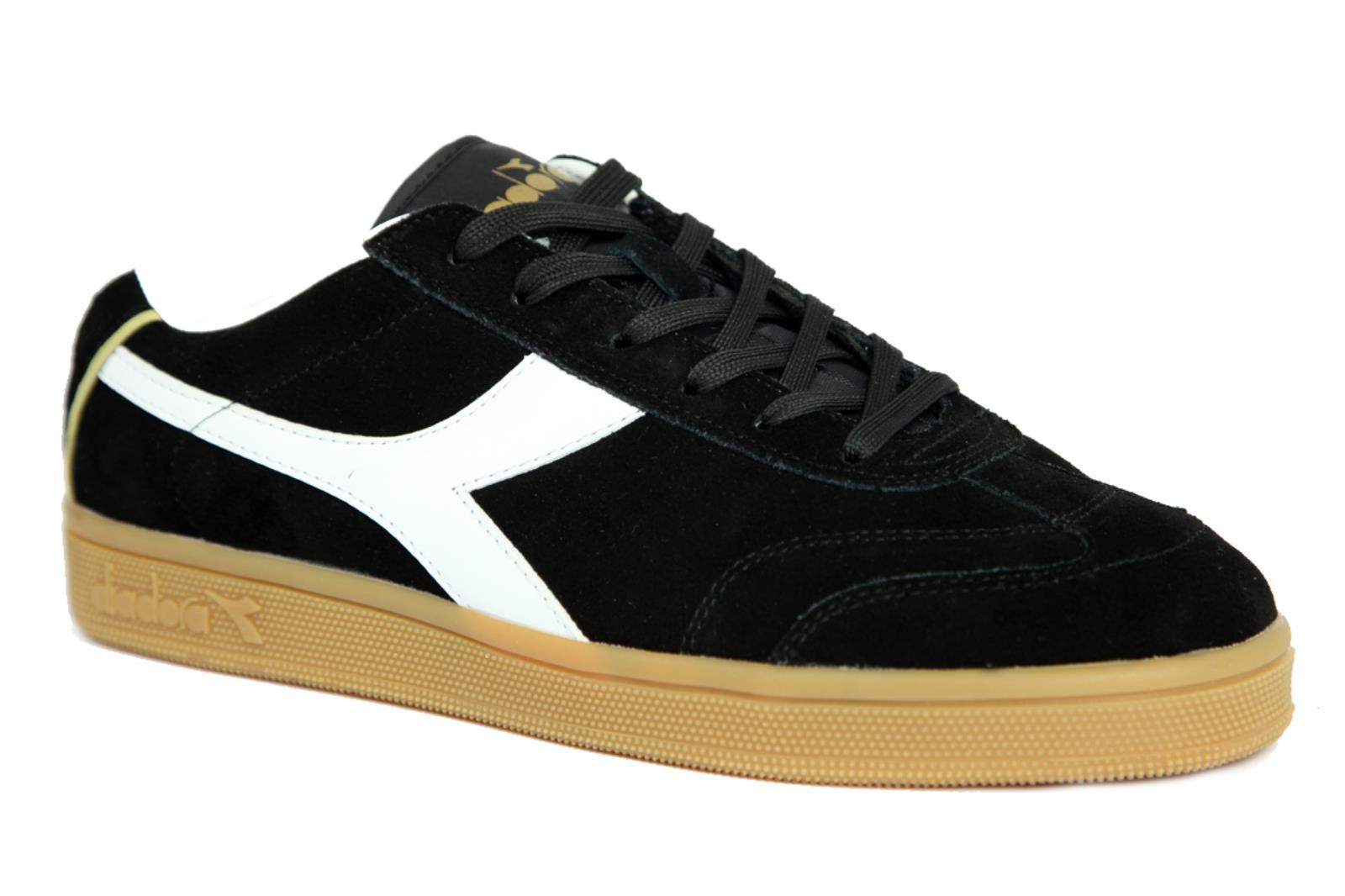 zapatillas DIADORA KICK 173100-80013 hombres CAMOSCIO negro