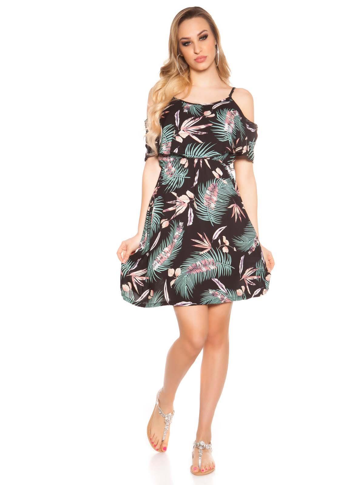KOUCLA Vestito corto floreale 0000C1802 9d0aad387b6