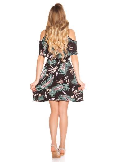 KOUCLA Vestito corto floreale 0000C1802