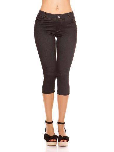 KOUCLA Leggings capri effetto jeans 0000ENLEG7-1