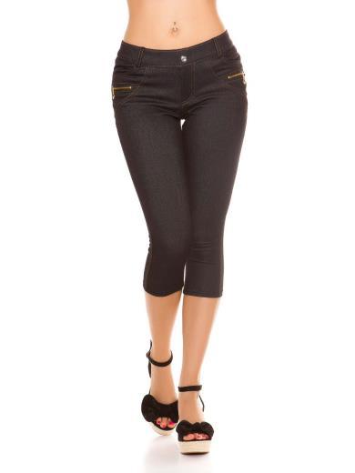 KOUCLA Leggings capri effetto jeans 0000ENLEG7-3