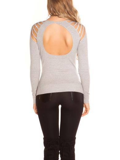 KOUCLA Maglia spalle e schiena scoperte 0000IN-1514