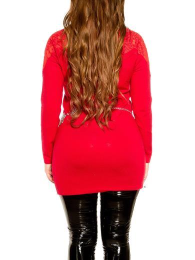 KOUCLA CurvyGirls Maxi maglia da leggings con pizzo 0000ISF8708