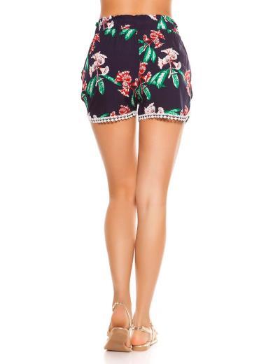 KOUCLA Shorts floreale 0000L-50